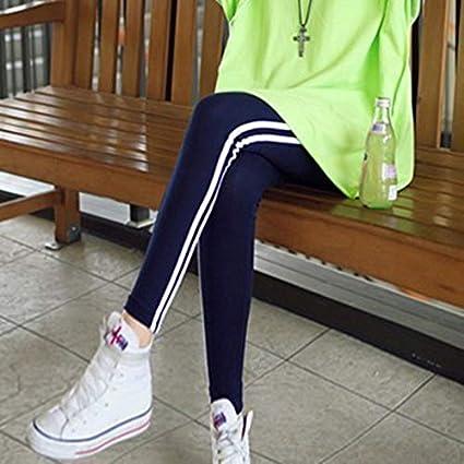 LanLan Pantalones Casuales Pantalones Deportivos de lápiz, Pantalones elásticos para Las Mujeres Pantalones elásticos para Las Mujeres