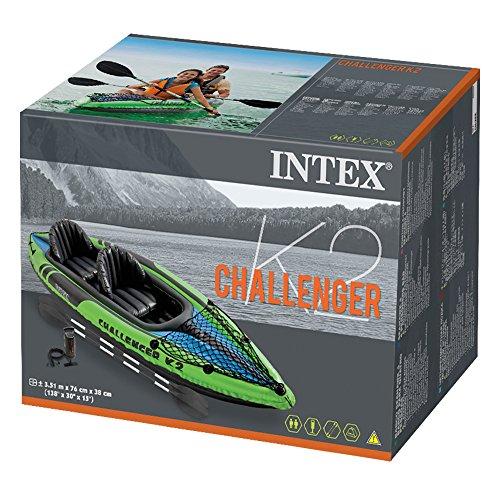 Intex 2 Person Challenger K2 Inflatable Kayak Pump