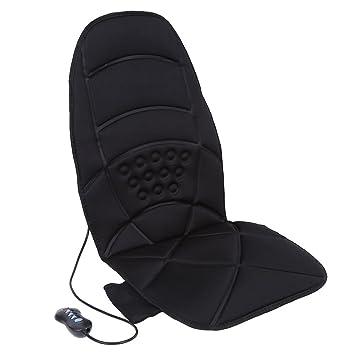 Amazon.com: Cojín de masaje eléctrico calefactado para el ...