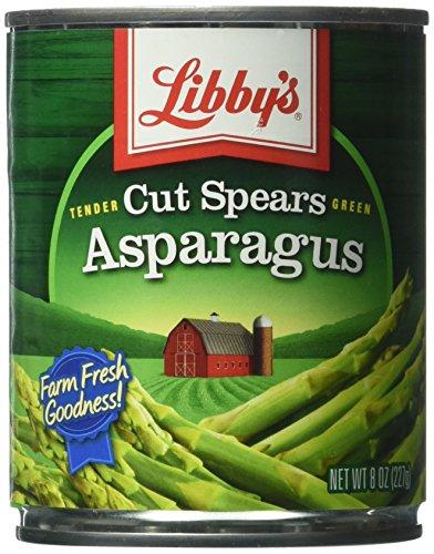 Libby's Cut Asparagus Spears, 8-Ounce Cans (Pack of 12)