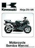 99924-1253-03 2000-2001 Kawasaki ZX1200A Ninja ZX-12R Motorcycle Service Manual