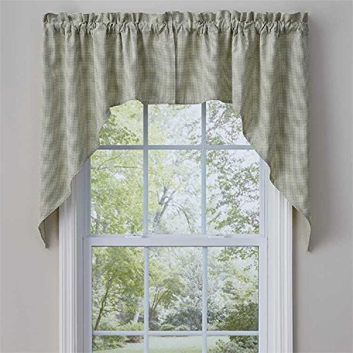 Park Designs Mason Jar 72 Inches x 36 Inches Unlined Window Treatment Swags