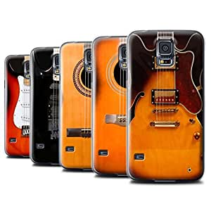 STUFF4 Phone Case / Cover for Samsung Galaxy S5 Mini / Multipack (6 Designs) Design / Guitar Collection