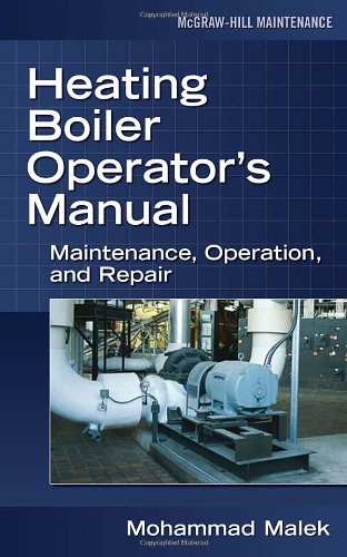 Heating Boiler Operator's  Manual: Maintenance, Operation, and Repair (Boiler Operator Books compare prices)