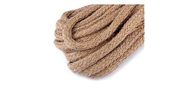 1m Atural de Arpillera de Yute Trenzado de Cuerda de Ancho 15mm ...