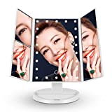 Big House Led Lighted Makeup Vanity Mirror - 180 Degree Rotation USB Charging or Battery Supply -...