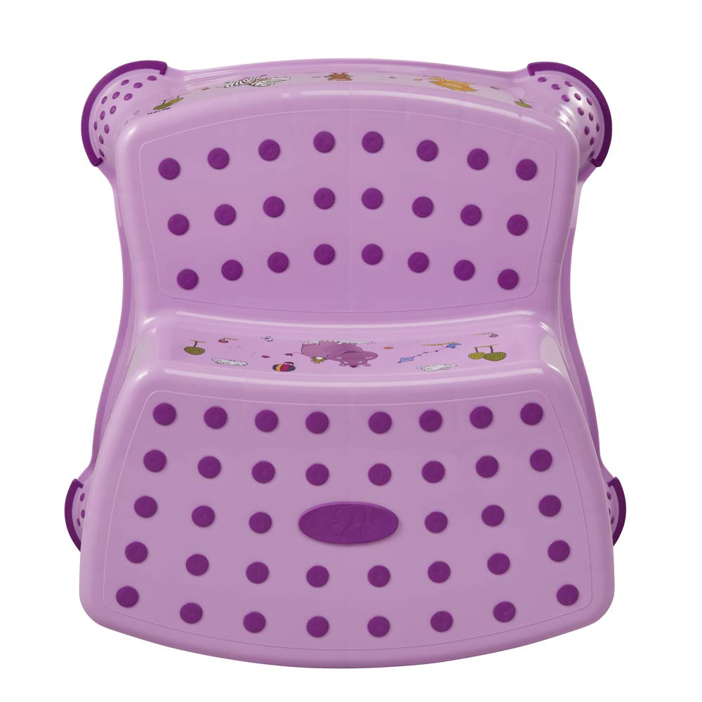 Anti-Slip Keeeper 2 Step Stool for Children from Approx.18/ Months up to Approx.10/ Years