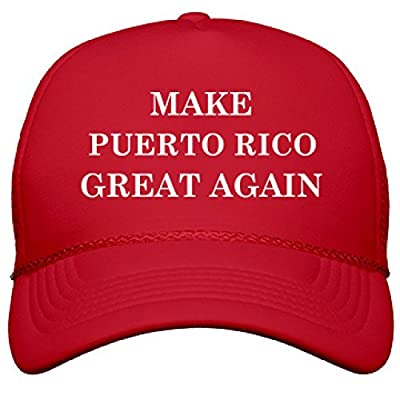 Make Puerto Rico Great Again: OTTO Solid Color Snapback Trucker Hat