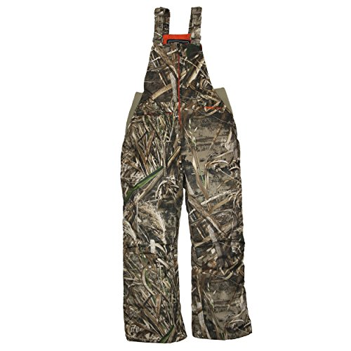 Arctix Youth Insulated Snow Bib Overalls, Realtree MAX-5 Camo, Large/Regular