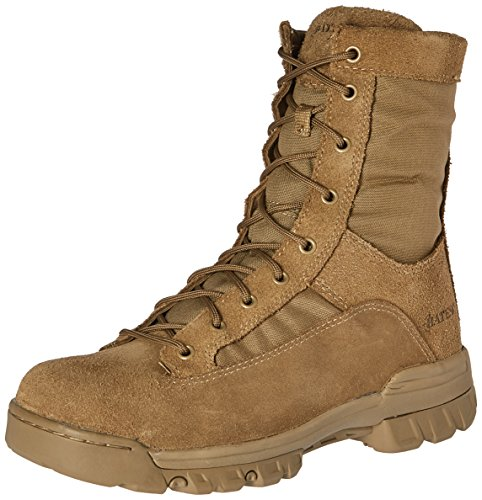 - Bates Men's Ranger II Hot Weather Military & Tactical Boot, Coyote, 9.5 M US