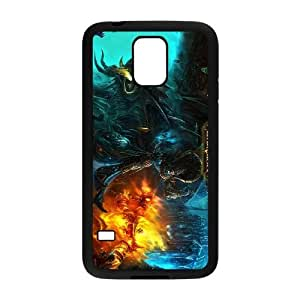 SamSung Galaxy S5 Black World of Warcraft phone cases&Holiday Gift