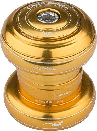Cane Creek 110 EC30/25.4   EC30/26 Threadless Headset Gold