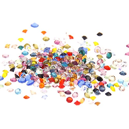 Nizi Jewelry Many Colors Copy Cubic Zirconia Stone Glass Rhinestones For Nails Art Decorations 1.2mm About 7000pcs (Mixed Colors)