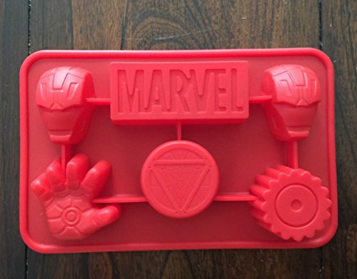 Marvel Ironman the Avengers Silicone Candy chocolate Mold Mini Cake Pan