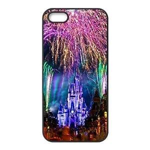 Generic Custom Disney Castle Plastic Case for iPhone 6 Plus 5.5 inch