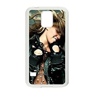 britney spears dancingwide Samsung Galaxy S5 Cell Phone Case White yyfD-337190