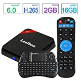 2017 TOP configuration Leelbox Q3 Android 6.0 TV Box 64Bit S912 Octa-core CPU 2GB Ram+16GB Rom Supporting 4K (60Hz) Full HD/ H.265 /2.4G+5G Dual-Band WiFi/BT 4.0/1000M lan With Free mini keyboard