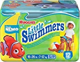 lil swimmers - Huggies Little Swimmers Disposable Swimpants, Nemo & Winnie the Pooh, Small, 12-Count