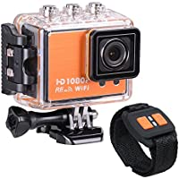 AW WIFI Full HD 1080P Sport Action Camera Camcorder Waterproof with Remote Control 170 Degree Wide Angle