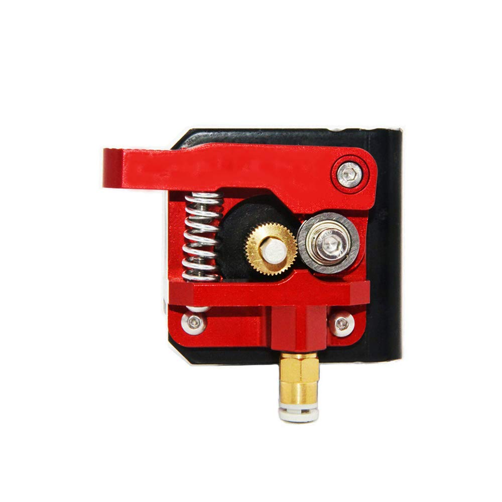 Redrex Upgraded Aluminum Bowden Extruder with 40 Teeth MK8 Drive Gear for Creality CR-10 Series and Other Reprap Prusa 3D Printers [Left Hand]