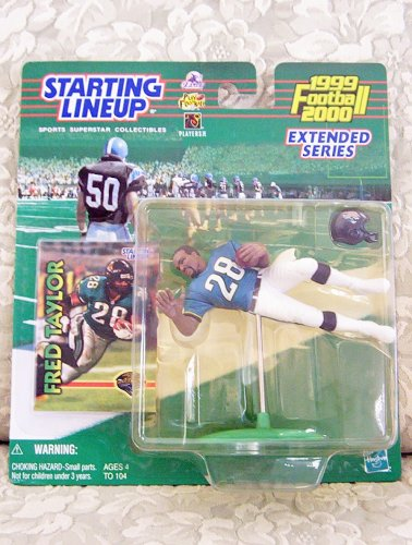 1999 NFL Starting Lineup Extended Series - Fred Taylor - Jacksonville - Jacksonville Outlet