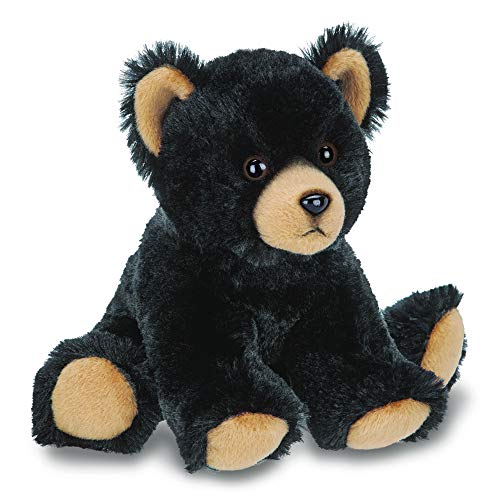 (Bearington Lil' Huck Small Plush Stuffed Animal Black Bear, 7)
