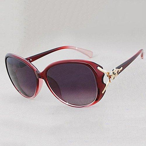 Puede Color con Equipado De Manejar 2 xin Gafas Sol 2 Caja Moda Retro Grande WX Polarizador Ser Miopía SpZvxq