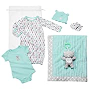 Baby Starters 6-Piece Neutral Bear Layette Set