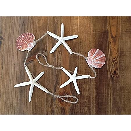 51YvKbcRAmL._SS450_ Beachy Starfish and Seashell Garlands