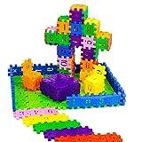 Hisoul 3D Puzzle Toy Set - 66 Pcs Lovely Shape Patterns Geometry Shape Cognitive Digital Building...