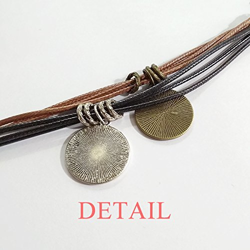 DIYthinker Got It from My Papa Children Father Present Bracelet Rope Wristband Gift Surprise Charm