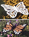 A Woodworking Pattern and Instructions Pkg to Build Your Own Super-sized Butterflies