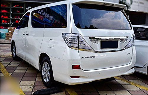 GOWE car styling for Toyota Alphard Taillight Vellfire LED taillight 2008-2014 With Flashing signal lamp Color white brown 2