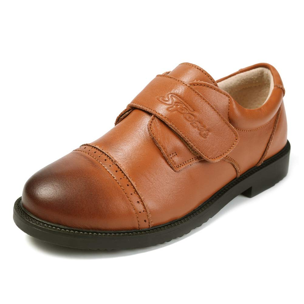 Toddler//Little Kid//Big Kid F-OXMY Boys Vintage Oxfords Dress Shoes Slip-On Comfy Outdoor Casual Shoes