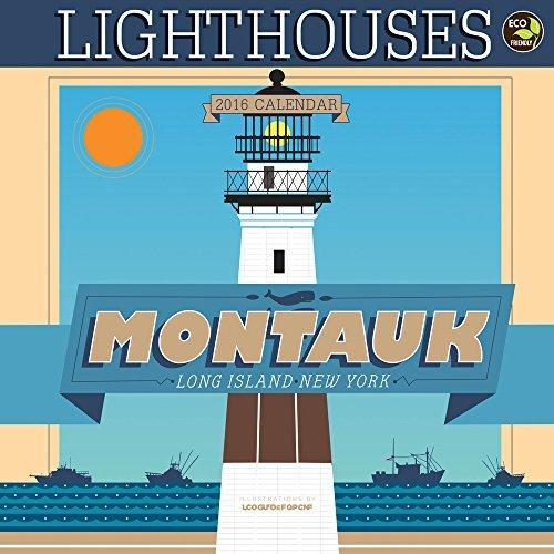 2016 Art of Lighthouses Wall Calendar by James McDonald (2015-08-10)