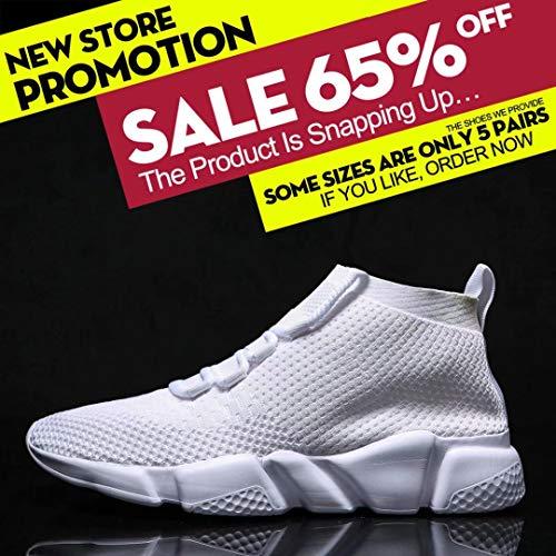 Chaussures De Tennis Baseball Hommes Casual Pour 0801white Marche Sneakers Mevlzz Tricot Jogging Course Chaussure Athltique xgZqpYX