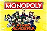 Monopoly My Hero Academia Board Game | Themed Monopoly Board Game | Custom Collectable Tokens | Bring Your Favorite My Hero Academia Show to Life in This Custom Monopoly Game