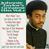 Johnnie Taylor - Greatest Hits, Vol. 1