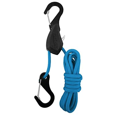 PROGRIP 056130 Better Than Bungee Rope Lock Tie Down with Snap Hooks: 6' Blue Paracord (Pack of 1): Automotive