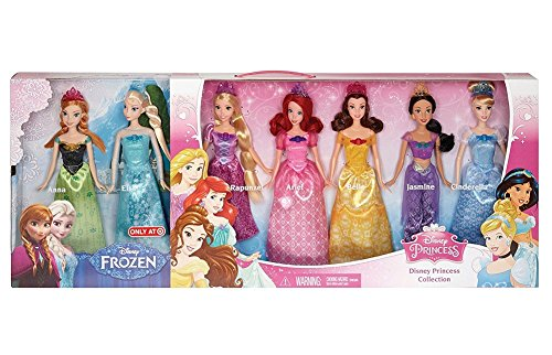 Disney Princess Ultimate Collection 7-Pack 2015 (Ultimate Disney Princess Collection)