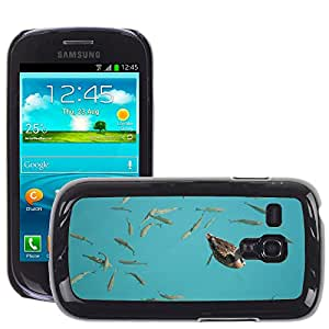 GoGoMobile Slim Protector Hard Shell Cover Case // M00124165 Summer Duck Water Fish Pond Ducks // Samsung Galaxy S3 MINI i8190