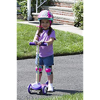 LOL Surprise! Bicycle Inline Skating Skateboard Protective Gear for Kids, Includes Elbow Pads, Knee Pads, and Padded Gloves : Sports & Outdoors