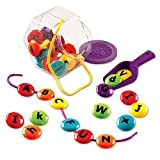Learning Resources ABC Lacing Sweets, 28 Pieces, Fine Motor Toy