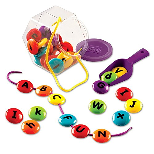 Learning Resources Smart Snacks ABC Lacing Sweets, 29 (Lowercase Lacing Letters)