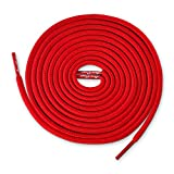 Lace Kings Round Shoelaces (Red - 54in)