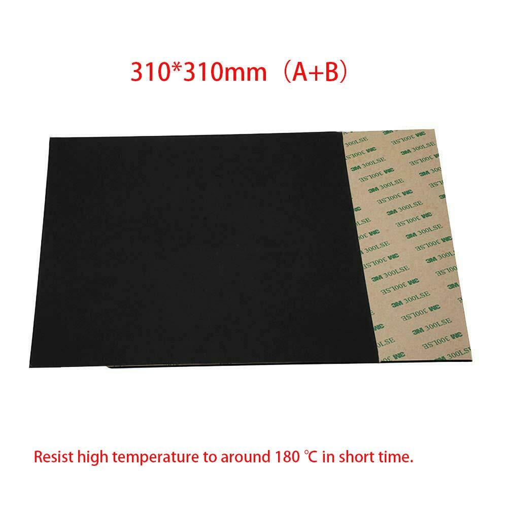 150 * 150mm A+B Flex Magnetic Print Bed Tape Hot Bed Sticker Build Surface Tape 3D Printer Platform Heatbed
