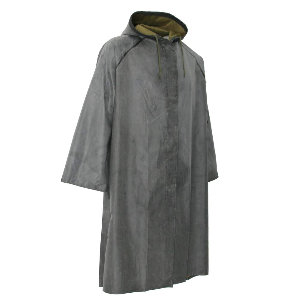 Baosity Rubber Raincoat Labor Protection Raincoat Thicken Canvas Poncho Cloth by Baosity (Image #1)