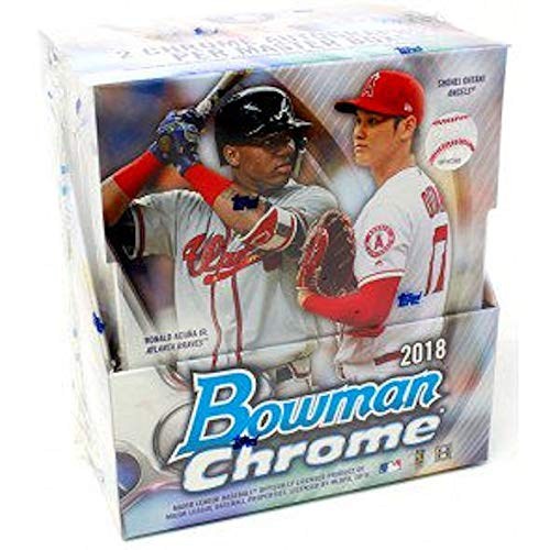 2018 Bowman Chrome MLB Baseball HOBBY box ()