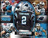 Photo File Action Collage Carolina Panthers Unframed Poster 14x11 Inches