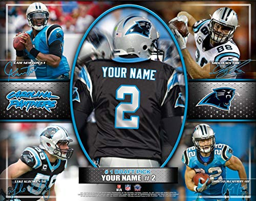 File Photo Photo - Photo File Action Collage Carolina Panthers Unframed Poster 12x16 Inches